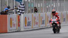 Dylan Gray looks back at a brilliant #malaysiangp, which saw Andrea Dovizioso become the 9th MotoGP™ winner in 2016, with Yamaha 2nd and 3rd