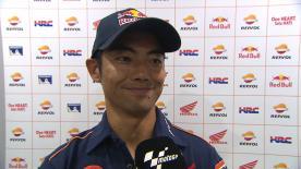 17番グリッドから16位でフィニッシュした青山博一が決勝レースを振り返る。