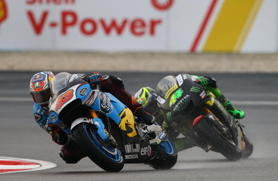 Jack Miller, Estrella Galicia 0,0 Marc VDS and Pol Espargaro, Monster Yamaha Tech 3, Shell Malaysia Motorcycle Grand Prix