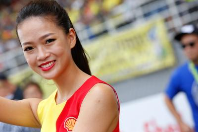 Las chicas del paddock en #MalaysianGP