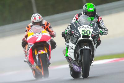 "Laverty: ""In the first six laps the damage was done already"""