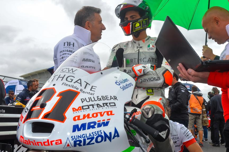 Francesco Bagnaia, ASPAR Mahindra Team Moto3