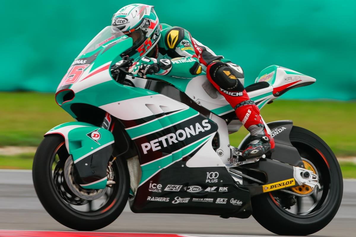 Syahrin in the top five at Sepang | MotoGP™