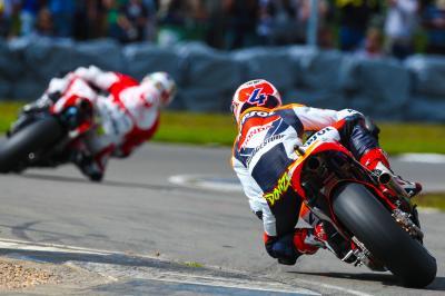 Donington 2009: La primera victoria de Dovizioso