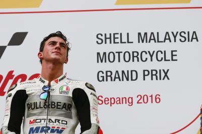 Bagnaia: «Sueño todos los días con montarme en la MotoGP»