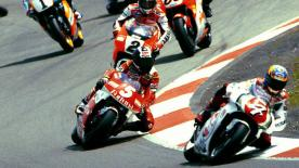 Relive the classic Japanese Grand Prix at the Suzuka Circuit in 1995.