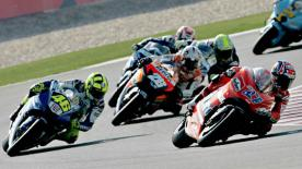 Relive the classic Qatar Grand Prix at the Losail Circuit in 2007.