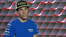 Aleix Espargaro blickt auf seine letzte Saison mit Suzuki zurück - und nach vorn auf seinen Wechsel ins Aprilla Gresini Team 2017.