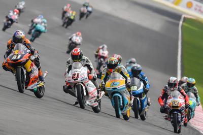 Se anuncia la lista de inscritos de Moto3™ 2017