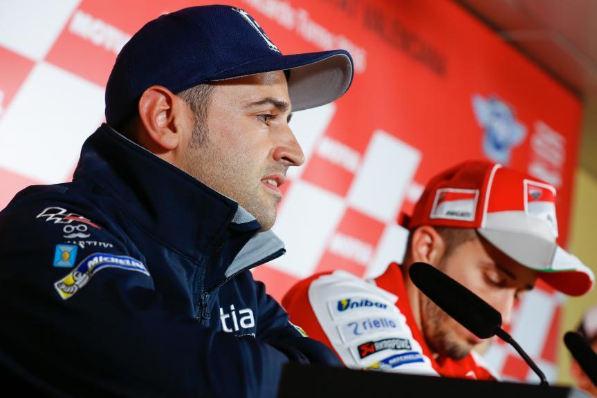 Hector Barbera, Press conference Gran Premio Motul de la Comunitat Valenciana