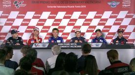 Revivez la conférence de presse précédant le #ValenciaGP.