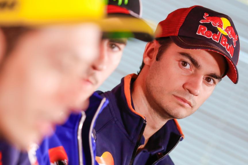 Dani Pedrosa, Press conference Gran Premio Motul de la Comunitat Valenciana