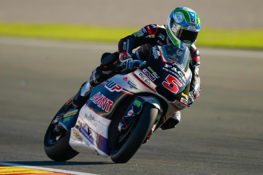 Johann Zarco, Ajo Motorsport, Gran Premio Motul de la Comunitat Valenciana
