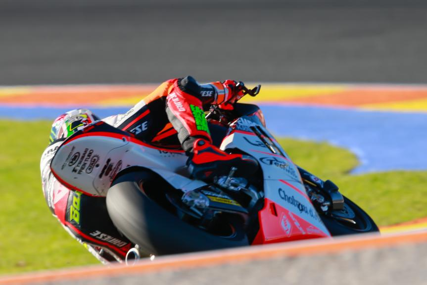 Lorenzo Baldassarri, Forward Team, Gran Premio Motul de la Comunitat Valenciana