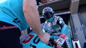 La seconda sessione di prove libere per la Moto3™ a Valencia.