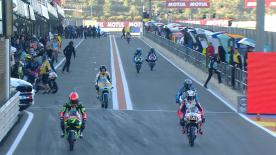 Vidéo intégrale de la première séance d'essais de la catégorie Moto3™ à Valence.
