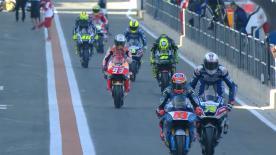 Vidéo intégrale de la première séance d'essais de la catégorie MotoGP™ à Valence.