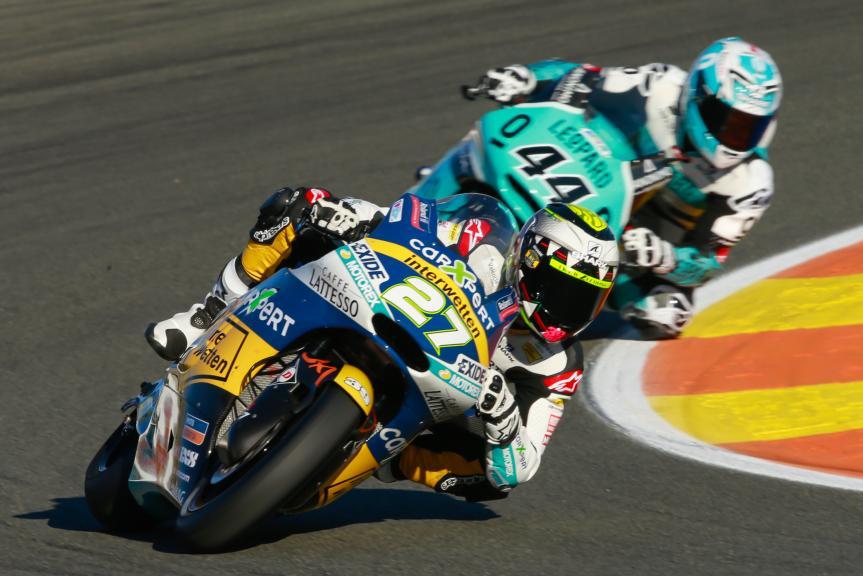 Iker Lecuona, Miguel Oliveira, Gran Premio Motul de la Comunitat Valenciana
