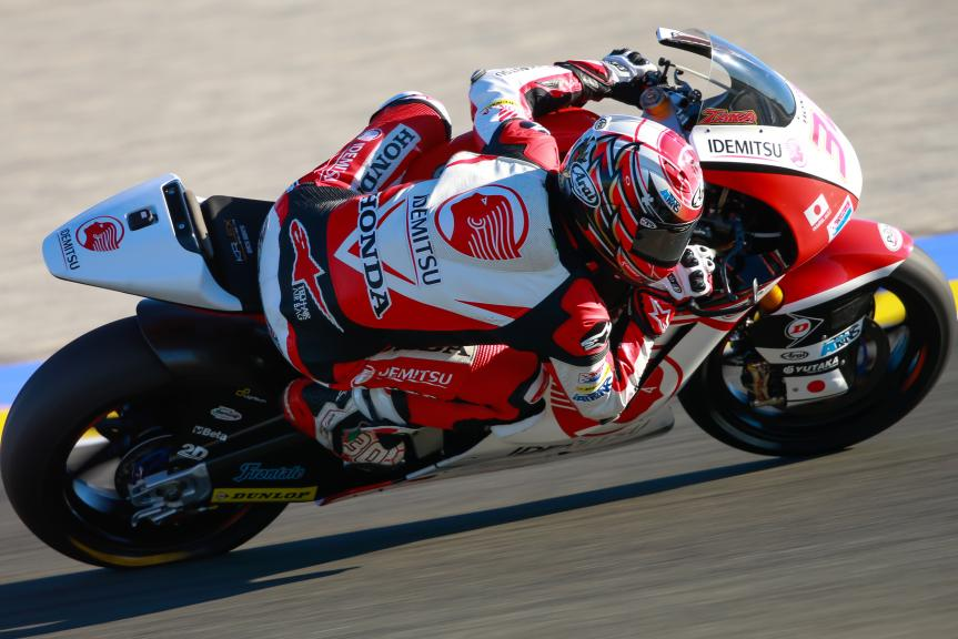 Takaaki Nakagami, IDEMITSU Honda Team Asia, Gran Premio Motul de la Comunitat Valenciana