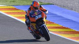 How the KTM RC16 stacked up against the rest on day 1 in Valencia