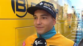 Il portacolori RBA Racing è soddisfatto del suo primo giorno a Valencia.