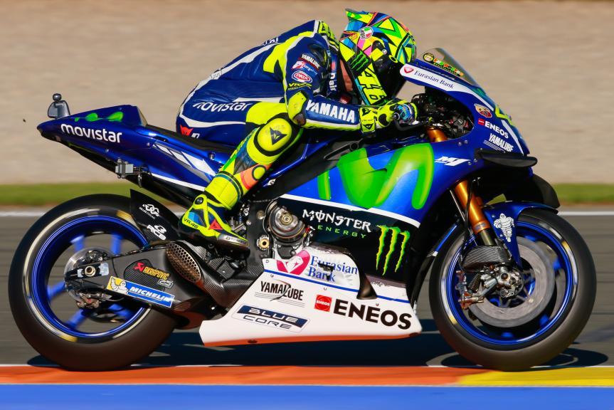 Valentino Rossi, Movistar Yamaha MotoGrand Prix, Gran Premio Motul de la Comunitat Valenciana