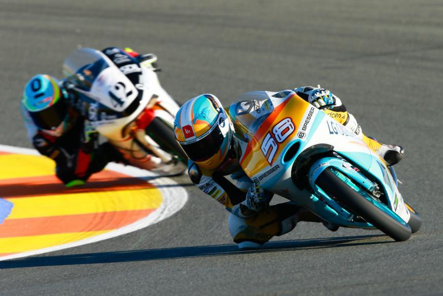 Juanfran Guevara, RBA Racing Team and Marcos Ramirez, Platinum Bay Real Estate, Gran Premio Motul de la Comunitat Valenciana