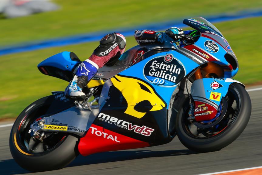Alex Marquez, Estrella Galicia 0,0 Marc VDS, Gran Premio Motul de la Comunitat Valenciana