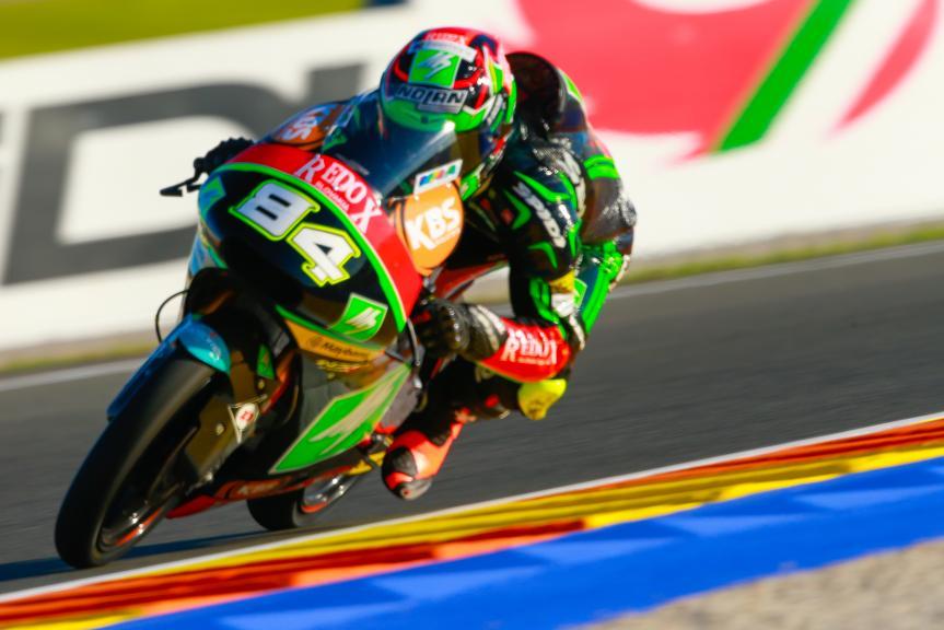 Jakub Kornfeil, Drive M7 SIC Racing Team, Gran Premio Motul de la Comunitat Valenciana