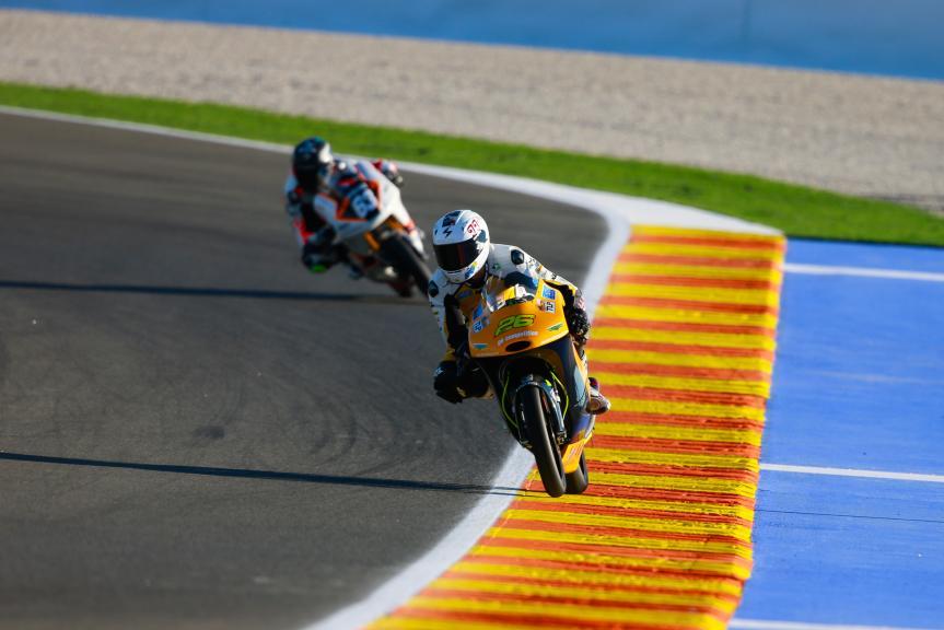 Daniel Saez, Ga Competition and Vicente Perez, Peugeot MC Saxoprint, Gran Premio Motul de la Comunitat Valenciana
