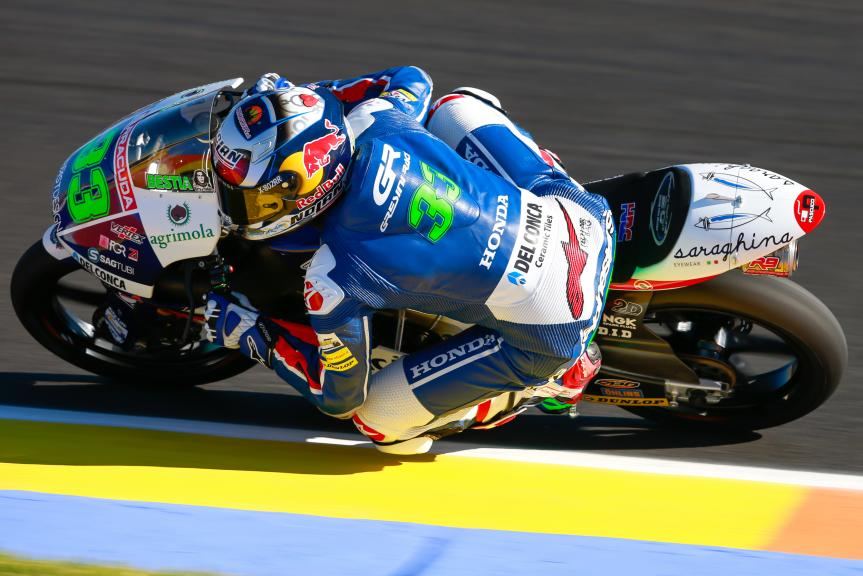 Enea Bastianini, Gresini Racing Moto3, Gran Premio Motul de la Comunitat Valenciana