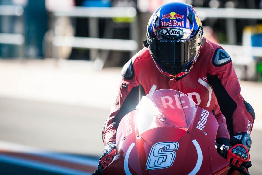 Stefan Bradl, Aprilia Racing Team Gresini, Gran Premio Motul de la Comunitat Valenciana © 2016 Scott Jones, PhotoGP