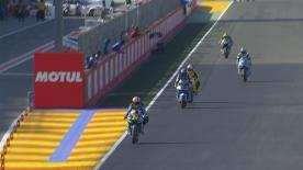 Moto2™: la terza sessione di libere sul tracciato di Valencia.