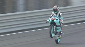 Moto3™: la terza sessione di libere al GP valenzano.