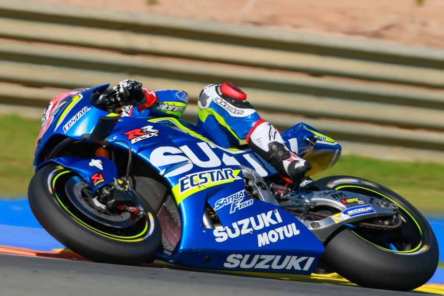Maverick Viñales, Team SUZUKI ECSTAR, Gran Premio Motul de la Comunitat Valenciana