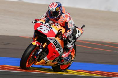 Pedrosa: tired but happy overall