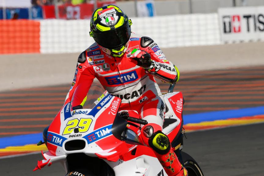 Andrea Iannone, Ducati Team, Gran Premio Motul de la Comunitat Valenciana
