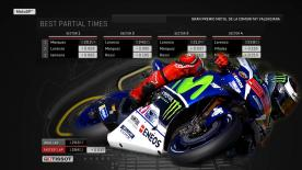 Find out what the ideal MotoGP™ lap from Q2 would have been around the Circuito de la Comunitat Valenciana.