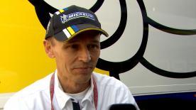 Nicolas Goubert, direttore tecnico Michelin Racing, commenta le prestazioni della gomme al #ValenciaGP