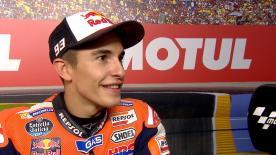 Il campione del mondo è secondo nelle qualifiche a Valencia.