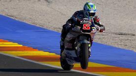 Il campione del mondo domina le qualifiche a Valencia e firma il nuovo record. Morbidelli in prima fila.