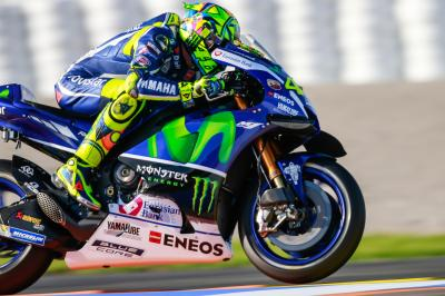 VR46 targeting the podium in Valencia