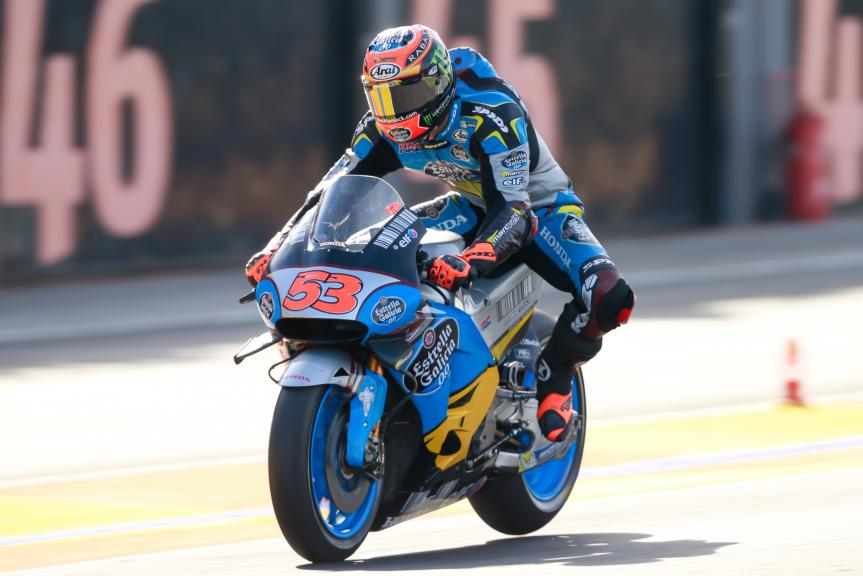 Tito Rabat, Estrella Galicia 0,0 Marc VDS, Gran Premio Motul de la Comunitat Valenciana