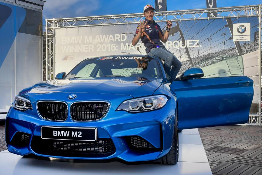 BMW M Award. Winer 2016: Marc Marquez