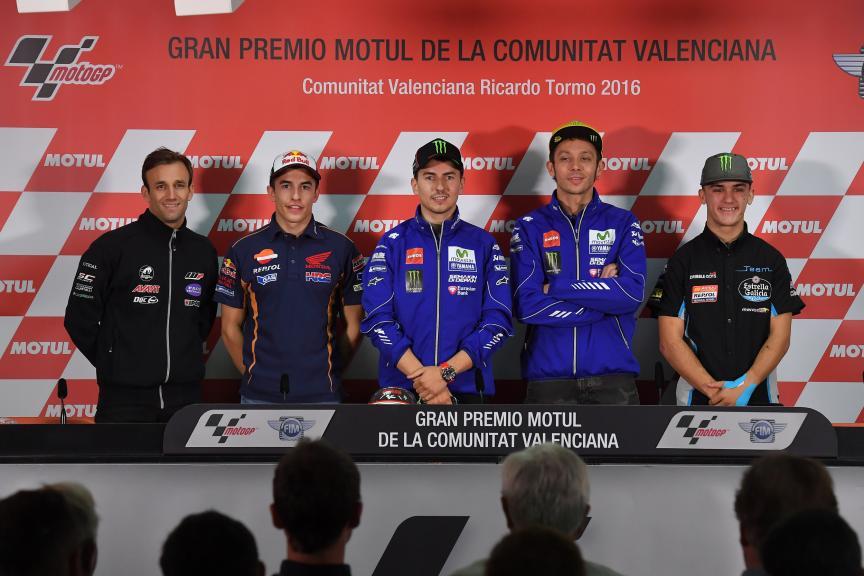 Press conference ran Premio Motul de la Comunitat Valenciana