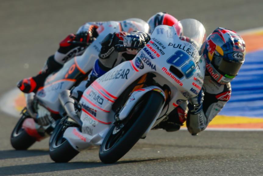 Jorge Martin, ASPAR Mahindra Team Moto3, Gran Premio Motul de la Comunitat Valenciana