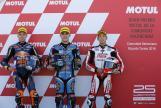 Aron Canet, Brad Binder, Hiroki Ono, Gran Premio Motul de la Comunitat Valenciana