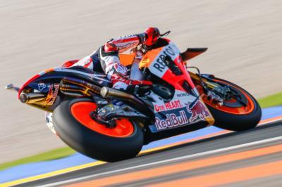 Marquez, primo anche nella FP4