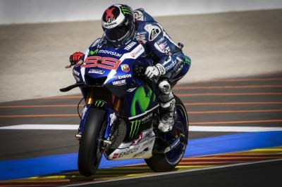 Lorenzo signe une dernière pole record avec la M1 à Valence