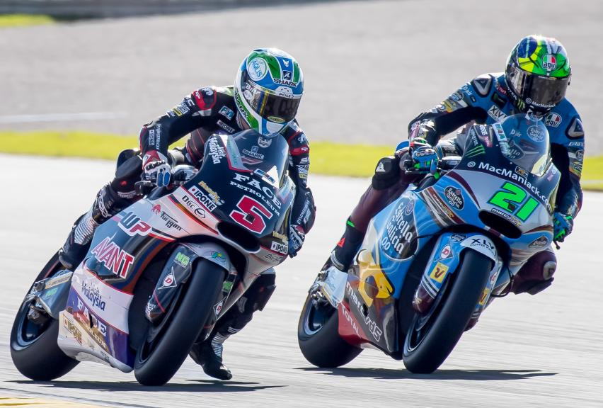 Johann Zarco,  Franco Morbidelli, Gran Premio Motul de la Comunitat Valenciana